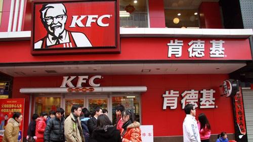 Hình ảnh Trung Quốc nở rộ trào lưu tẩy chay KFC, iPhone số 1