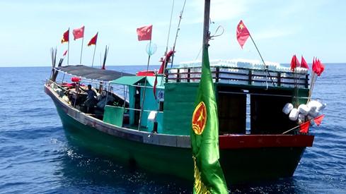 6 tàu cá Trung Quốc xâm phạm sâu vùng biển Việt Nam 1
