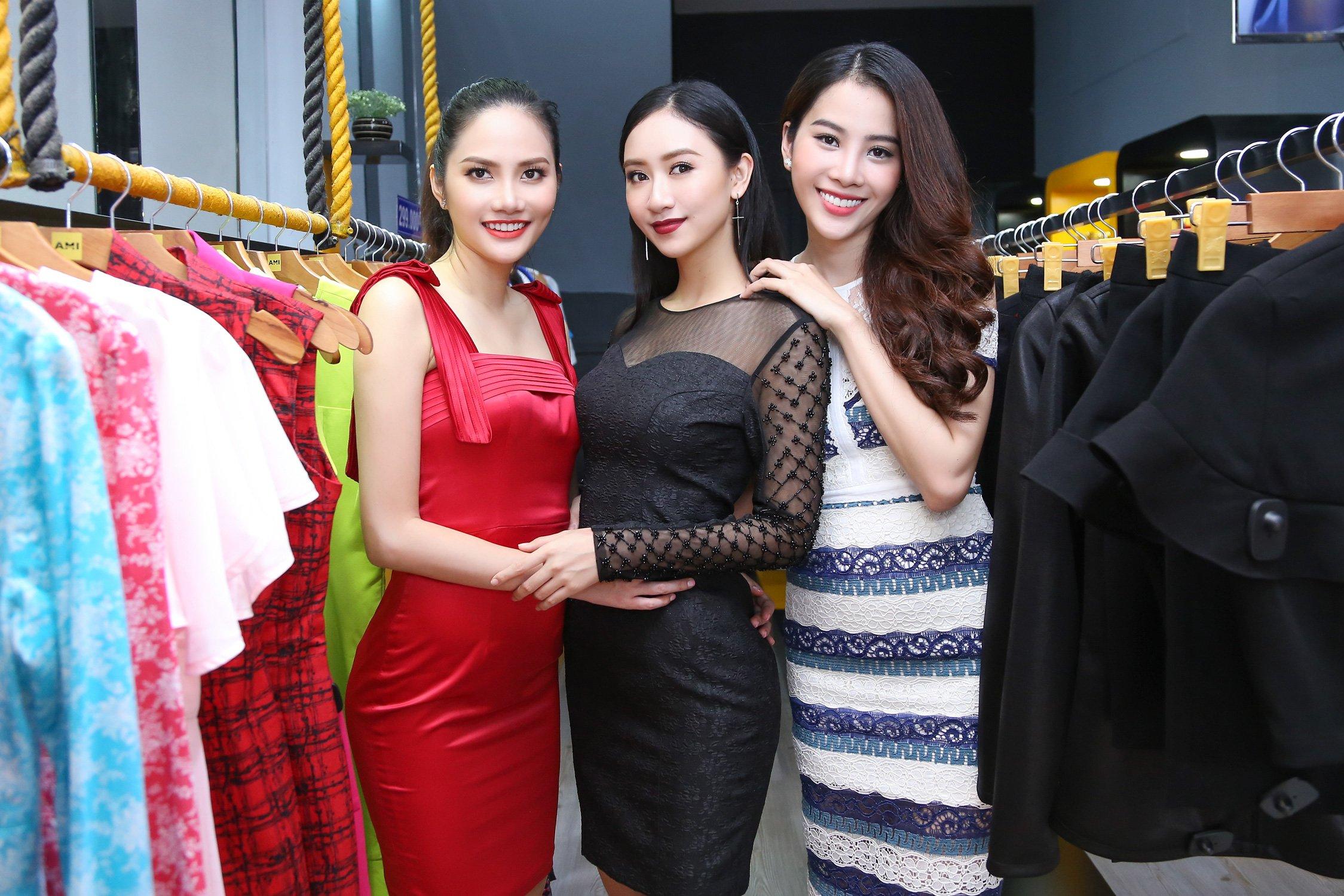 Đọ gu thời trang sành điệu của bộ ba Thu Hà, Diệu Linh, Nam Em 7