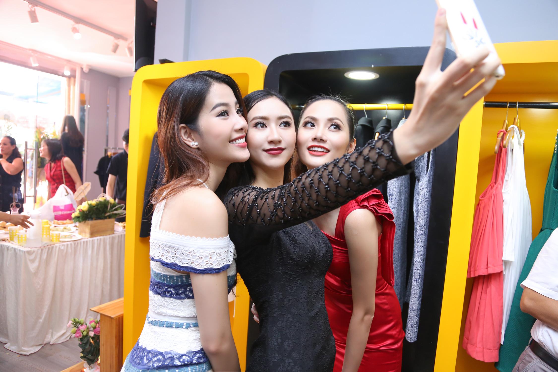 Đọ gu thời trang sành điệu của bộ ba Thu Hà, Diệu Linh, Nam Em 2