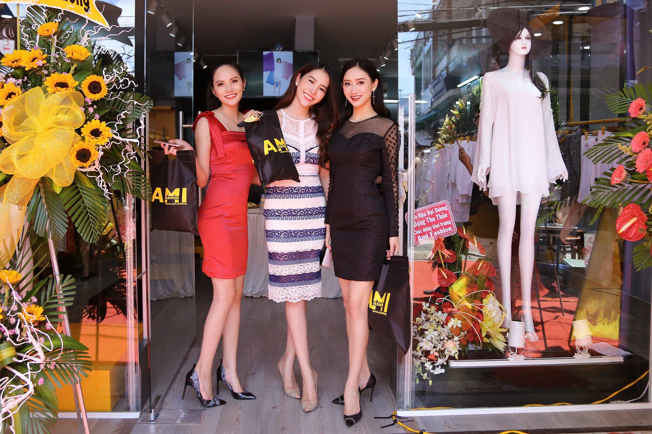 Đọ gu thời trang sành điệu của bộ ba Thu Hà, Diệu Linh, Nam Em 1