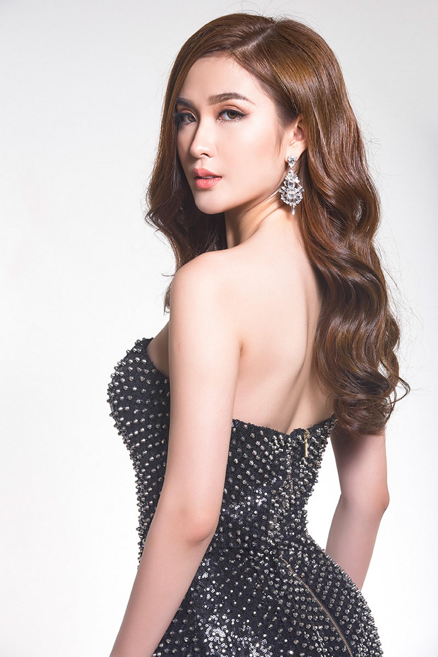 Vẻ đẹp như hoa hậu của Ngọc Loan đội Phạm Hương tại The Face 8