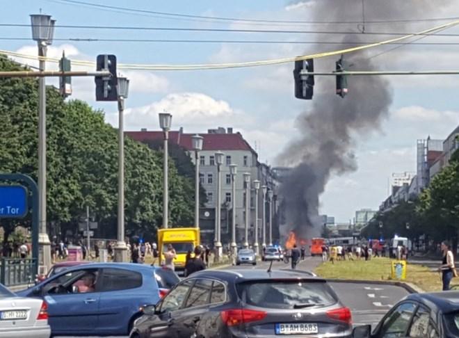 Đức: Berlin rung chuyển vì nổ lớn 1