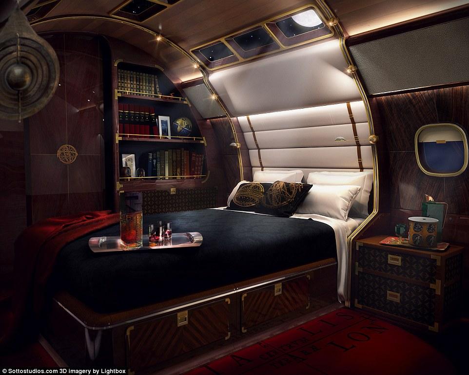 """Điều gì đặc biệt trong """"du thuyền bay"""" 1.800 tỷ đẳng cấp nhất thế giới 2"""