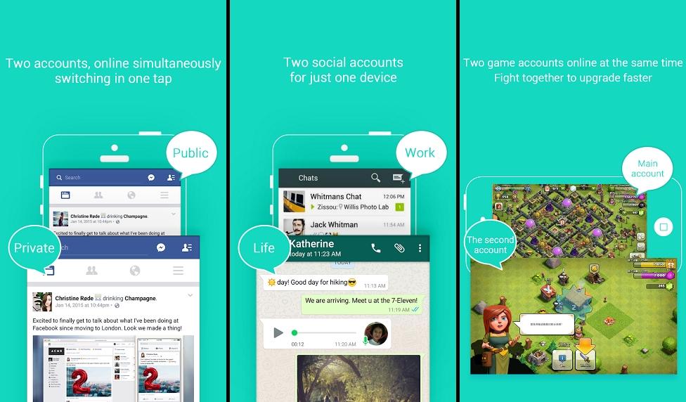 Hình ảnh Top 5 ứng dụng giúp đăng nhập nhiều tài khoản Facebook trên Android số 1