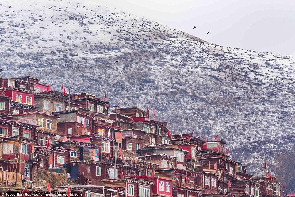 Vẻ đẹp của Học viện Phật giáo Tây Tạng trước khi bị TQ phá hủy 18