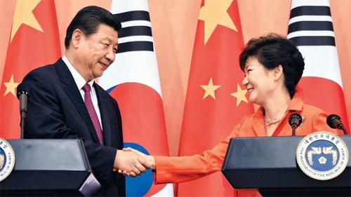 Trung Quốc khiến Seoul phải triển khai lá chắn tên lửa THAAD 3