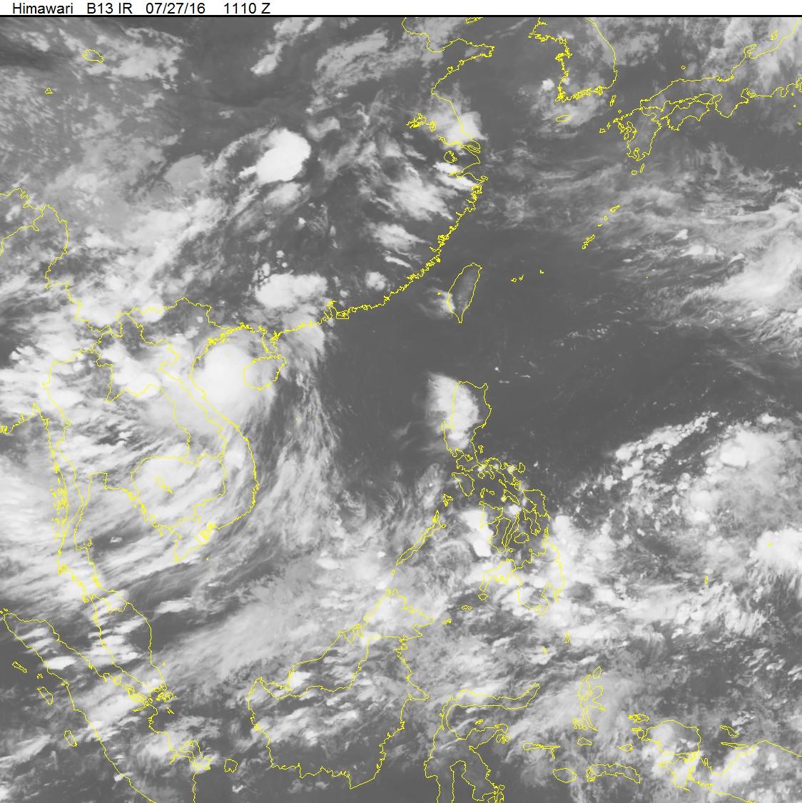 Bão số 1 ảnh trực tiếp tới Hà Nội gây mưa lớn và dông 3