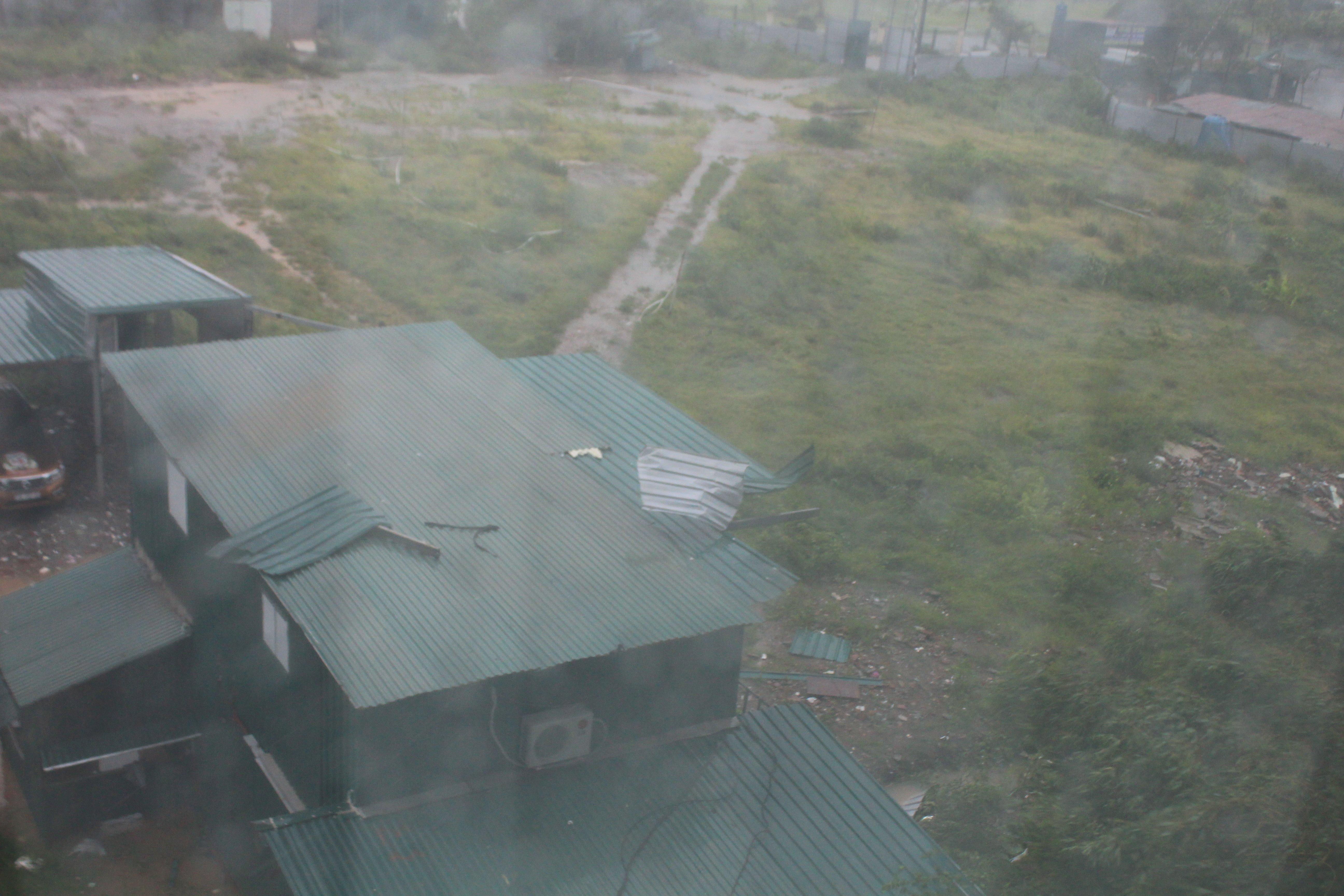 Bão số 1 ảnh trực tiếp tới Hà Nội gây mưa lớn và dông 1
