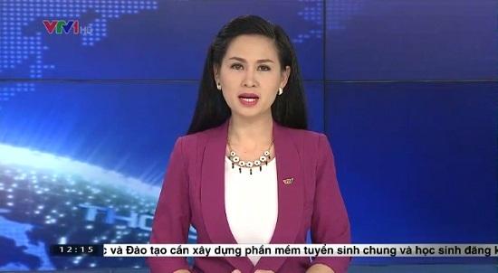 Chân dung nữ MC Thời sự 19h lọt đề cử ấn tượng VTV 1