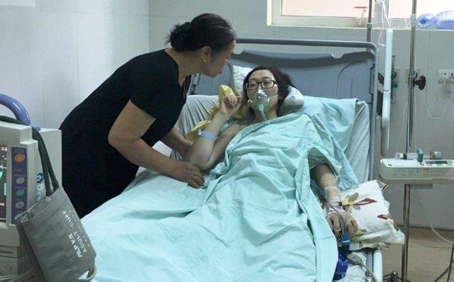 Nghẹn ngào lời cuối của nữ công an từ chối điều trị ung thư để cứu con 1