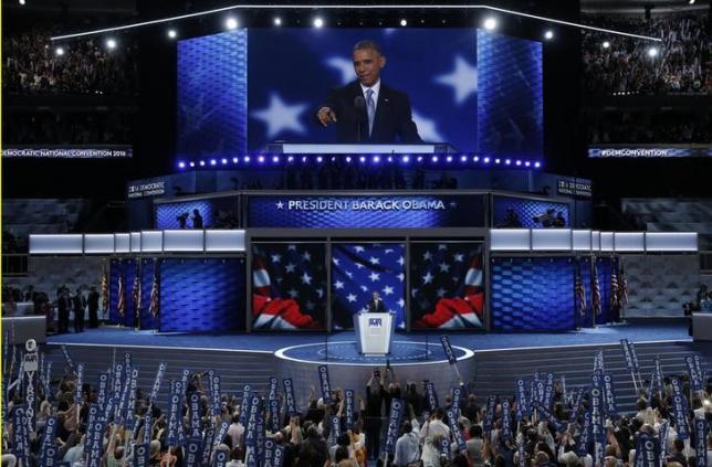 Obama kêu gọi ủng hộ Hillary Clinton, chống lại Donald Trump 1