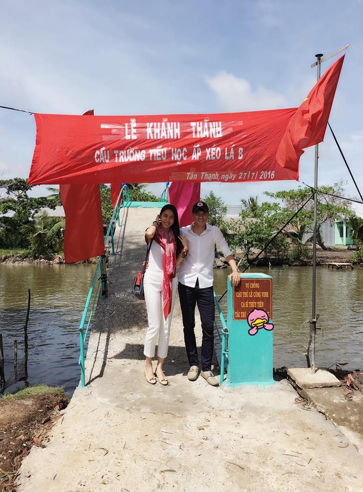 Hoa hậu Thu Thảo lên tiếng bênh vực vợ chồng Thủy Tiên Công Vinh 1