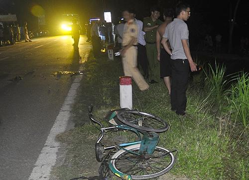 Tai nạn giao thông, 2 người tử vong 1