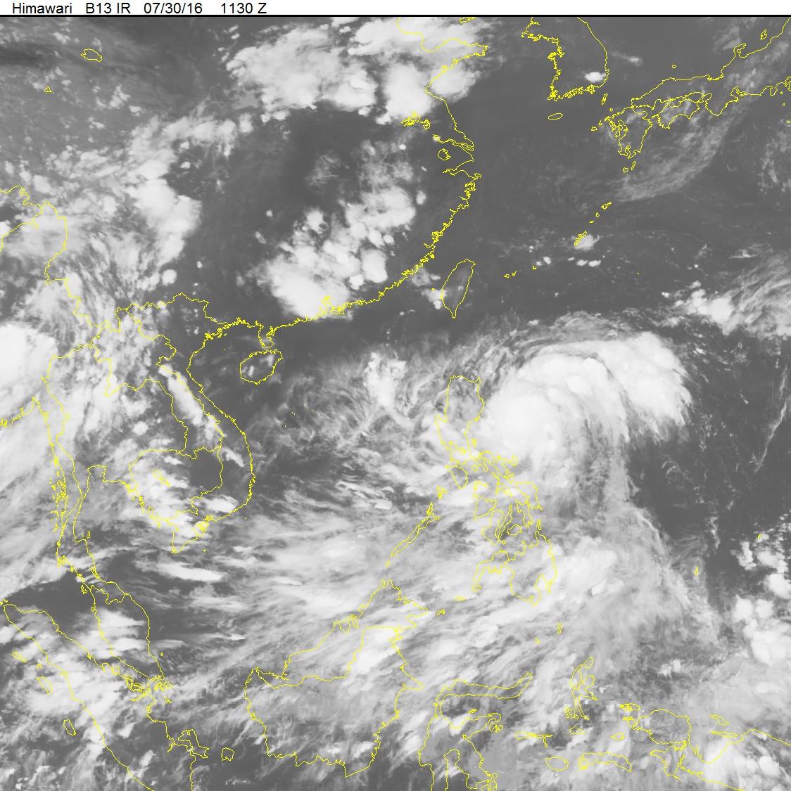 Bão gần Biển Đông, sức gió mạnh cấp 13, giật cấp 15-16 1