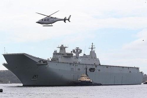 Hoàn cầu Thời báo: Hãy tấn công tàu tuần tra Australia vì ủng hộ phán quyết Biển Đông 6