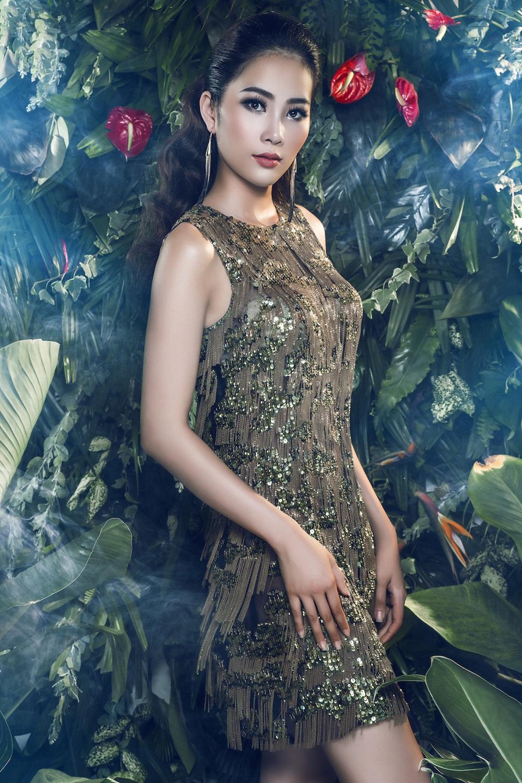 Hình ảnh Nam Em chính thức được đề cử tham gia Hoa hậu Trái Đất 2016 số 3