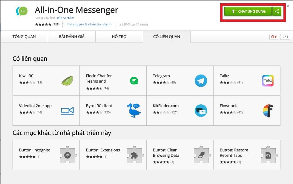 All-in-One: Chat nhiều ứng dụng trên một công cụ rất tiện lợi 2