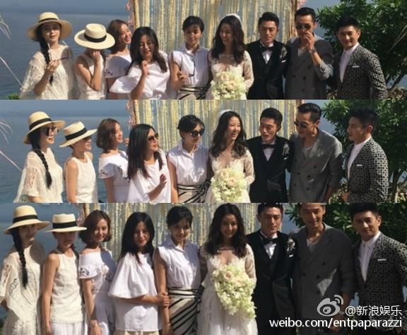 Bộ ba Hoàn Châu cách cách hội ngộ trong đám cưới Lâm Tâm Như 5