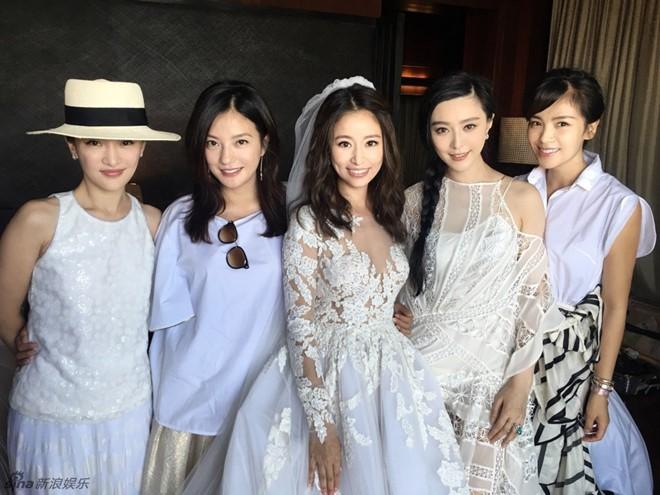 Bộ ba Hoàn Châu cách cách hội ngộ trong đám cưới Lâm Tâm Như 4