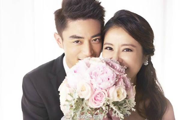 Bộ ảnh cưới đẹp như mơ của cặp đôi Lâm Tâm Như - Hoắc Kiến Hoa 5