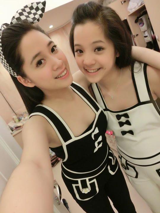 Cận cảnh nhan sắc xinh đẹp cặp ái nữ của đại gia Đài Loan 1