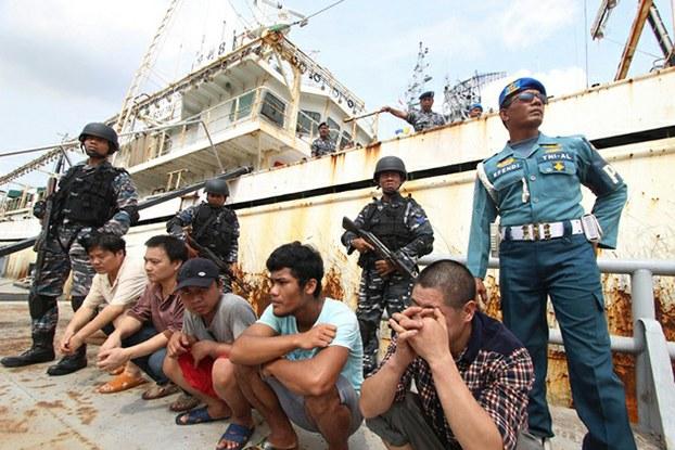 Indonesia đánh chìm 71 tàu cá nước ngoài trong ngày quốc khánh 1
