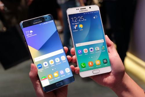 Galaxy Note 7 chính thức ra mắt - Chống nước, bảo mật võng mạc cực nhanh 1