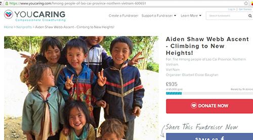Gia đình du khách Anh tử nạn ở Sa Pa thành lập quỹ hỗ trợ người H'Mong 3