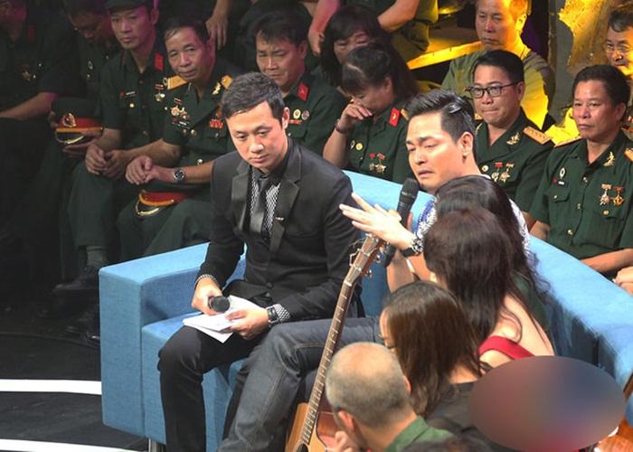 MC Phan Anh bật khóc trên truyền hình vì không được bộc bạch hết nỗi lòng 1