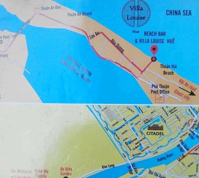 Huế: Thu giữ hơn 250 bản đồ xuyên tạc về Biển Đông của khu du lịch tự in 1