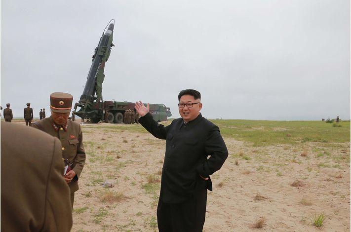 Mỹ - Nhật - Hàn cùng lên án các vụ phóng tên lửa của Triều Tiên 1