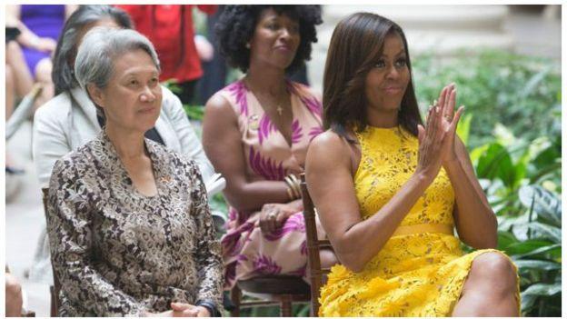 Bật mí về chiếc ví 11 USD vợ Thủ tướng Singapore mang sang Mỹ 2