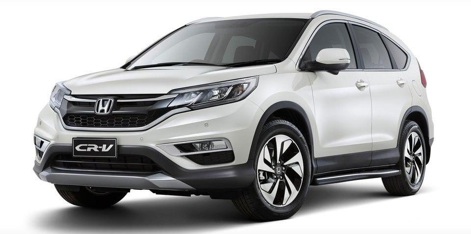 Hình ảnh Honda CR-V có thêm phiên bản Limited Edition số 1