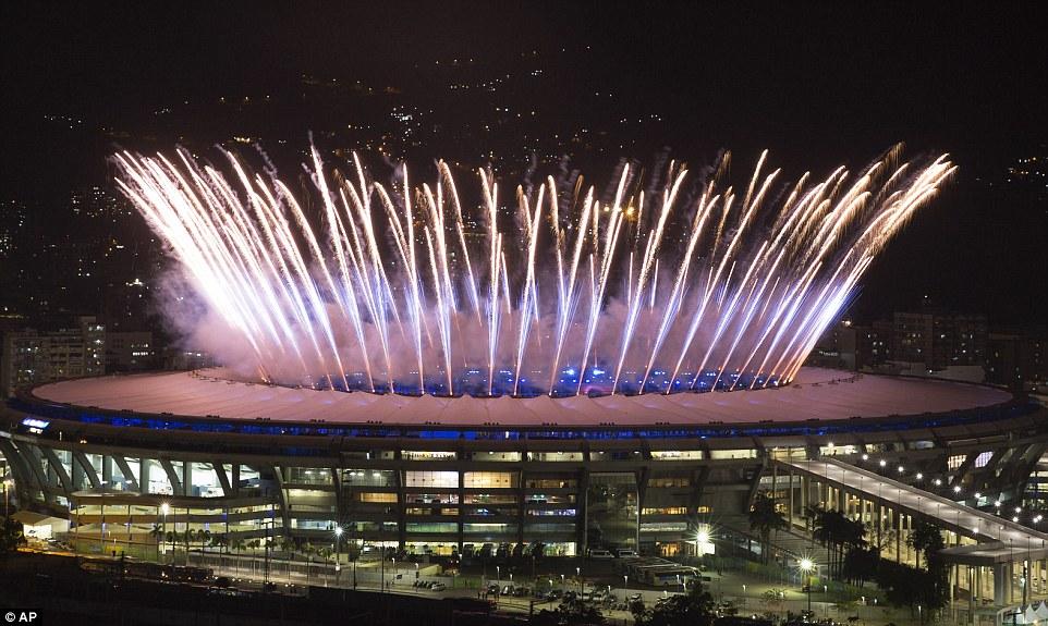Rực rỡ sắc màu Lễ khai mạc Olympic Rio 2016 11