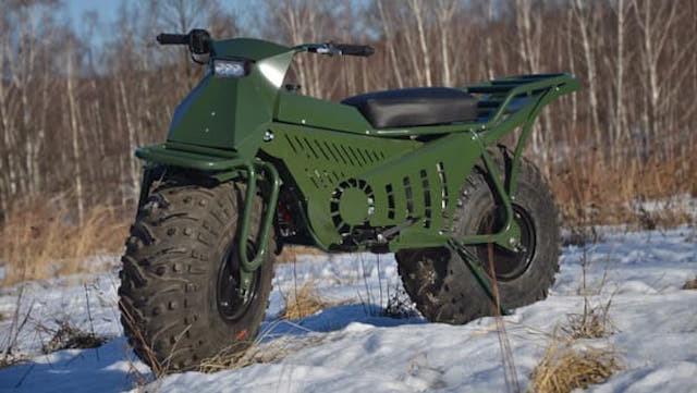 Xe máy địa hình siêu nhẹ của Nga lộ diện bản chính thức 2