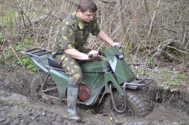 Xe máy địa hình siêu nhẹ của Nga lộ diện bản chính thức 4