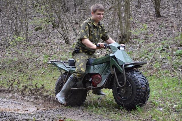 Xe máy địa hình siêu nhẹ của Nga lộ diện bản chính thức 5