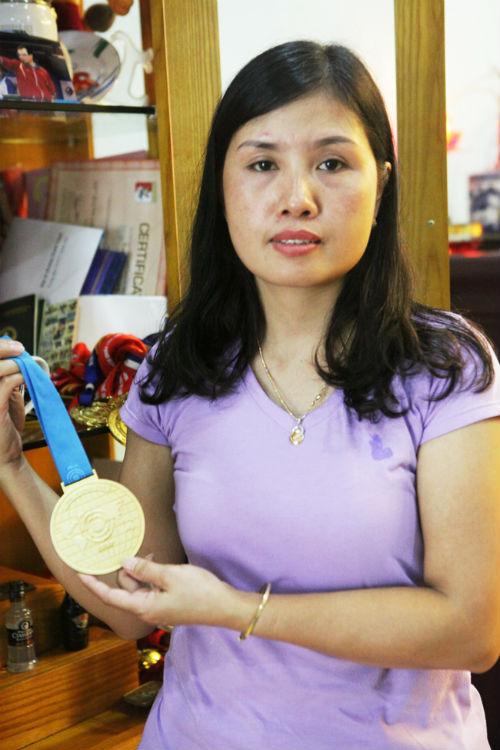 Vợ VĐV Hoàng Xuân Vinh nói gì sau chiến thắng lịch sử của chồng? 2