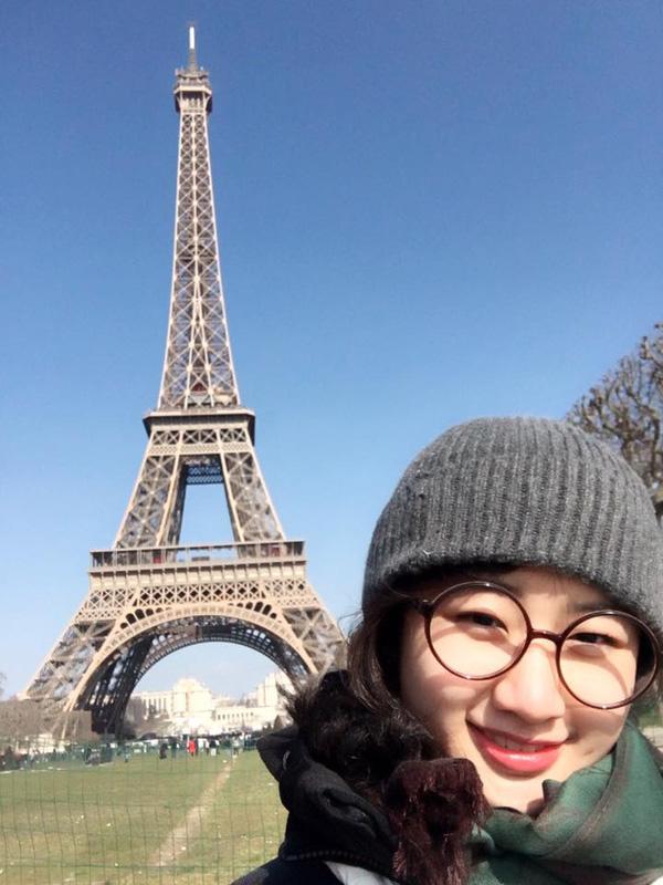 Nhan sắc đời thường của Tân Hoa hậu Bản sắc Việt toàn cầu 2016 1