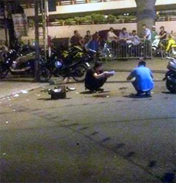 Hà Nội: Trung úy Công an phường bị đâm trọng thương trên phố 1