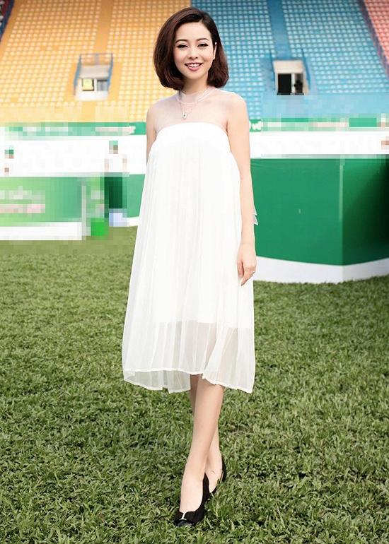 Hoa hậu Jennifer Phạm mang thai lần 3, dự định sang Mỹ sinh con 1