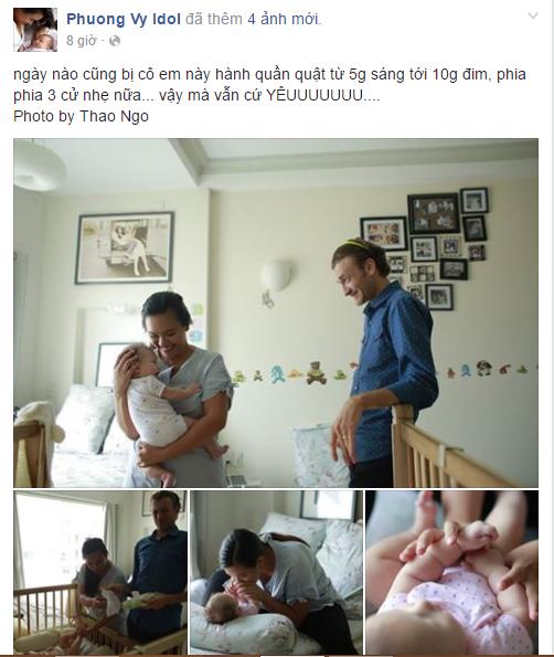 Facebook sao Việt: Vẻ đáng yêu của cặp sinh đôi nhà MC Hoàng Linh 10