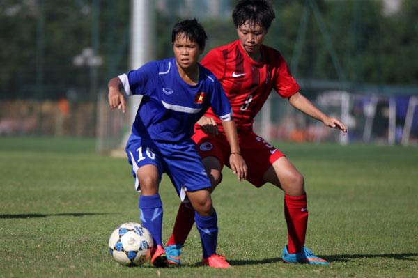 Hình ảnh ĐT U16 nữ Việt Nam thắng đậm U18 nữ Hồng Kông số 2