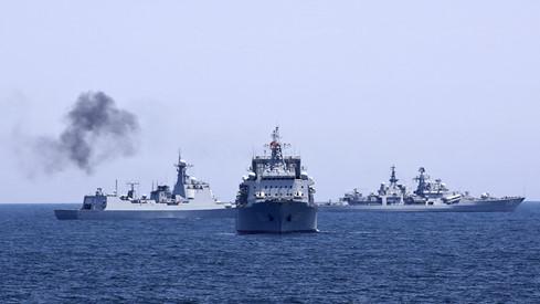 Mỹ chỉ trích cuộc tập trận ở Biển Đông của Trung Quốc và Nga 1