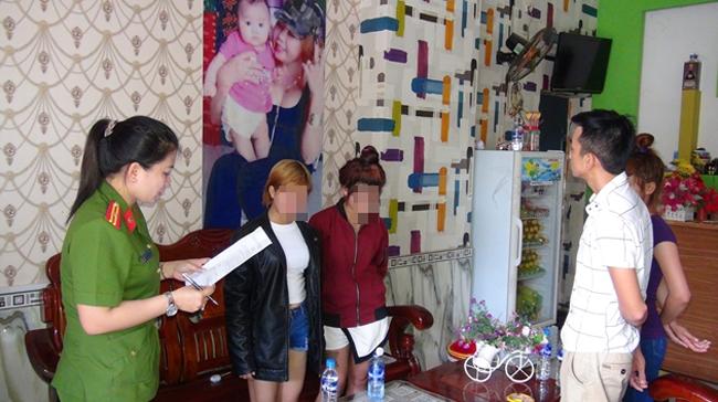 Giải cứu 5 bé gái nghi bị ép làm tiếp viên massage kích dục 1