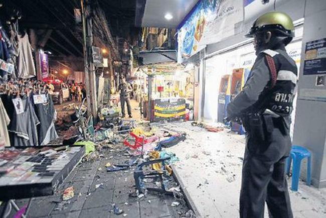 Đánh bom kép tại khu nghỉ dưỡng, 21 người thương vong tại Thái Lan 2