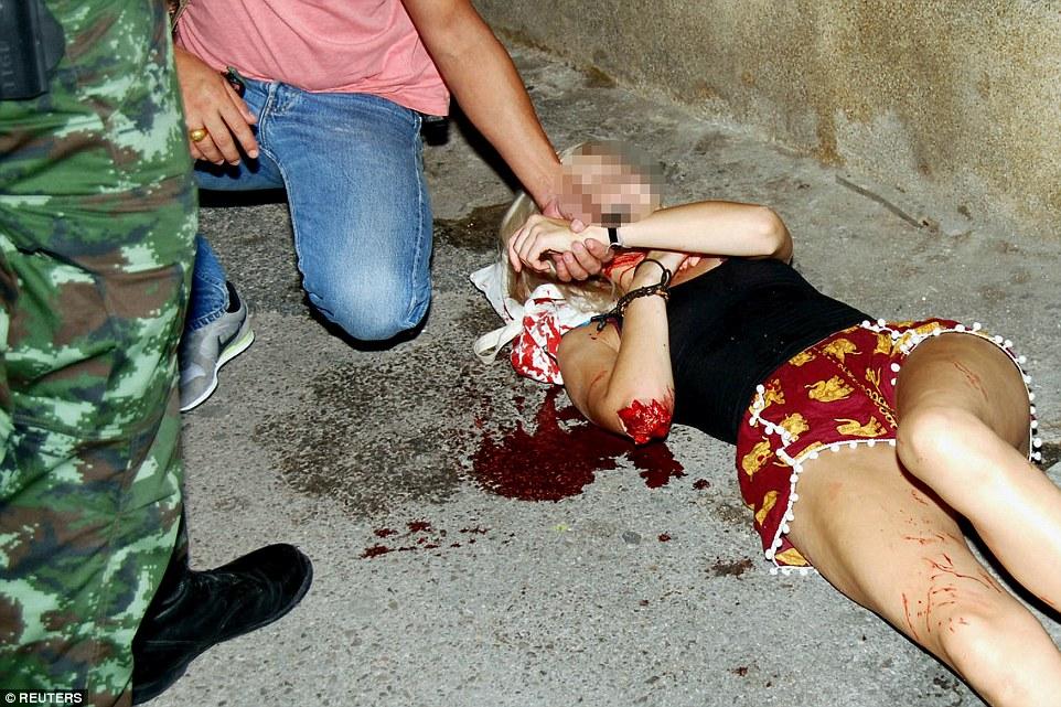 Hiện trường đẫm máu các vụ đánh bom liên tiếp ở Thái Lan 2