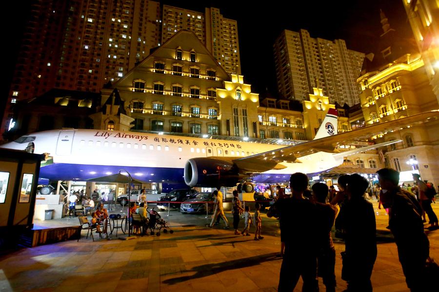 Chi hơn 5 triệu USD biến phi cơ cũ thành nhà hàng máy bay đầu tiên Trung Quốc 1