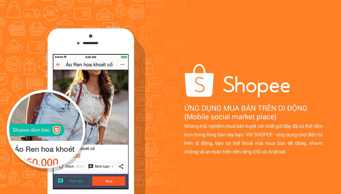 Tải Shopee - Ứng dụng mua bán trên di động cực hay ho 1